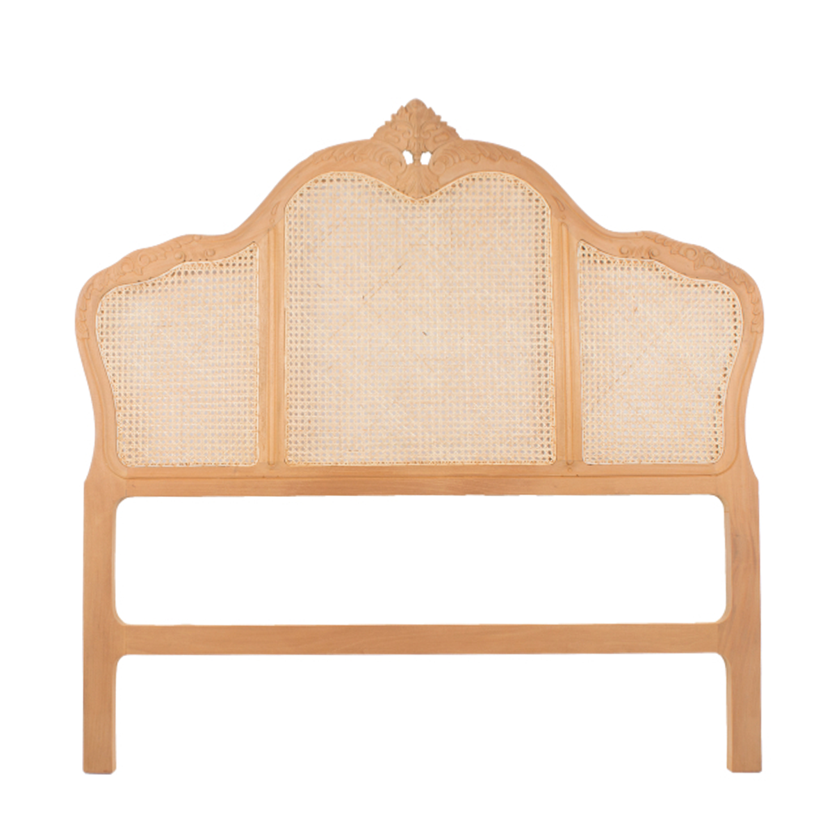 Victorian Rattan Headboard Super King Antique Street