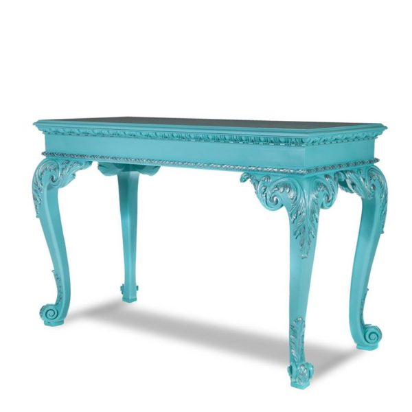 Chippendale Scroll Foot Hall Table