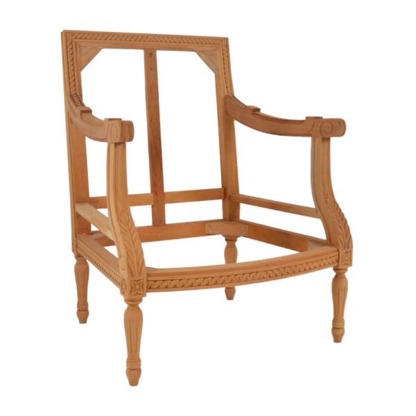 Louis Square Back Tub Chair