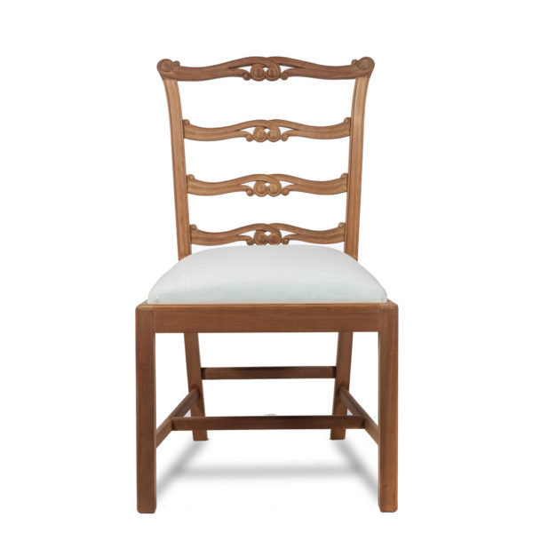 Chippendale Ladder Back Dining Chair