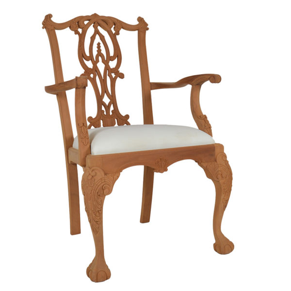Gothic Chippendale Carver