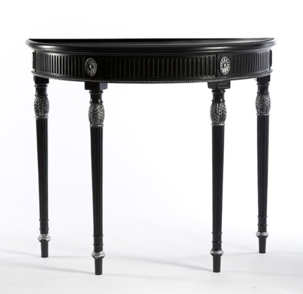 Regency Half Round Table