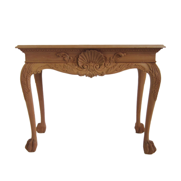 Shell Console Table Lion Foot