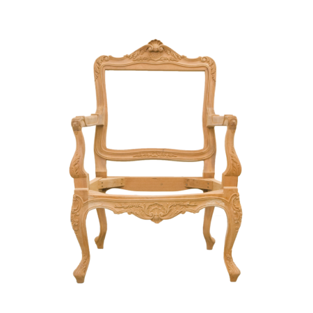 French Shell Salon Chair